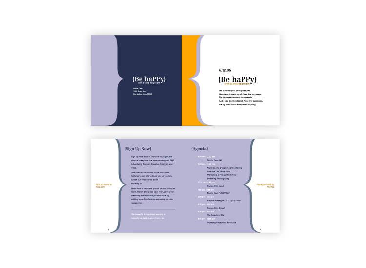 BeHappy Conference Brochure
