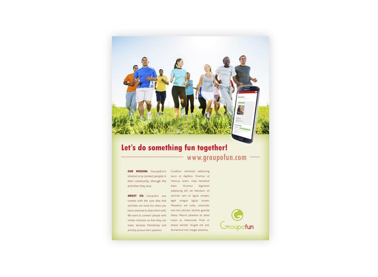 Groupofun Magazine Ad