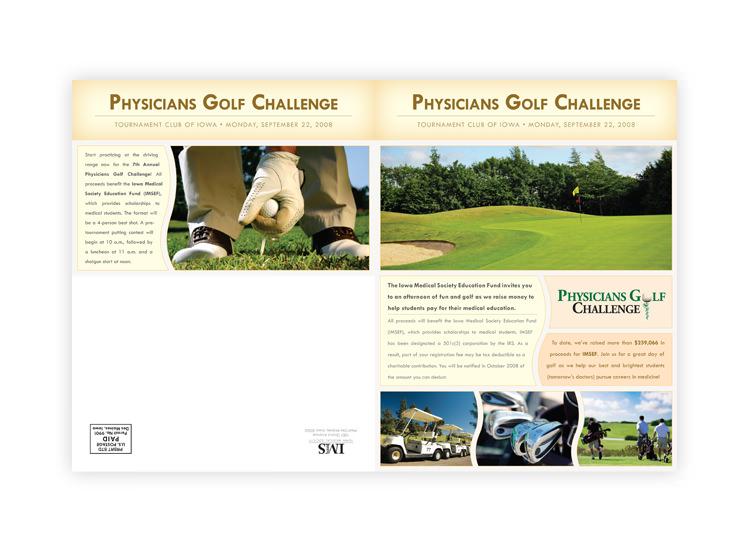 Physicians Golf Challenge Registration Brochure