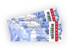 Fabrication de Chaussettes Tour Tickets